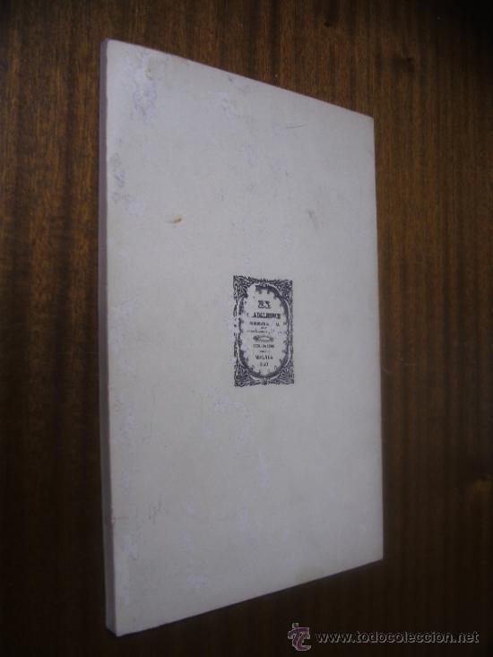 Libros de segunda mano: COSAS DE ALICANTE / ÁNGEL CAFFARENA / IMPRENTA SUR - MÁLAGA 1972 - Foto 2 - 32173911