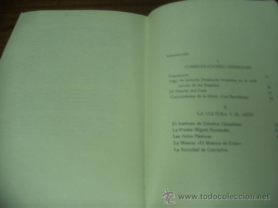 Libros de segunda mano: COSAS DE ALICANTE / ÁNGEL CAFFARENA / IMPRENTA SUR - MÁLAGA 1972 - Foto 3 - 32173911
