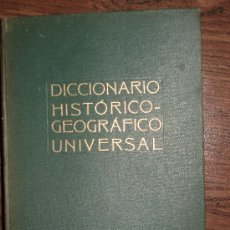 Libros de segunda mano: DICCIONARIO GEOGRAFICO UNIVERSAL EDICIONES BORIS BUREBA AÑOS 40. Lote 32200380
