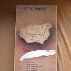 Libros de segunda mano: MAPAS TOPOGRÁFICOS DE LA PROVINCIA DE LEÓN, CARPETA Nº 1 DE LA CRÓNICA 16 Y CAJA ESPAÑA. Lote 32268573