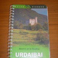 Libros de segunda mano: GUIAS VERDES - RESERVA DE LA BIOSFERA DE URDAIBAI - SUSAETA - ESPAÑA. Lote 32275329