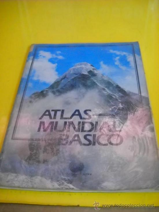 ATLAS MUNDIAL BASICO PLANETA-AGOSTINI (Libros de Segunda Mano - Geografía y Viajes)