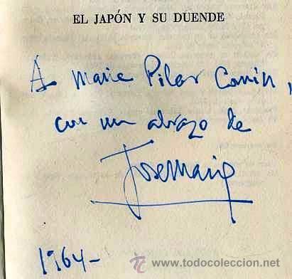 Libros de segunda mano: GIRONELLA : EL JAPÓN Y SU DUENDE (PLANETA, 1964) 1ª EDICIÓN, CON DEDICATORIA MANUSCRITA DEL AUTOR - Foto 2 - 32308649