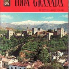 Libros de segunda mano: TODA GRANADA. 150 FOTOS A TODO COLOR.. Lote 32517846