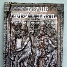 Libros de segunda mano: DE RONCESVALLES A SANTIAGO DE COMPOSTELA UN CAMINO A LA MEDIDA DEL HOMBRE FEDERICO PUIGDEVALL 1993. Lote 194779841