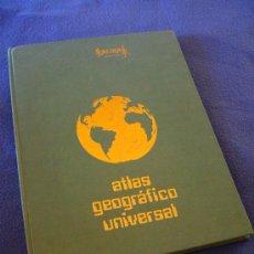 Libros de segunda mano: ATLAS GEOGRAFICO UNIVERSAL - SALINAS 1980. Lote 32631915