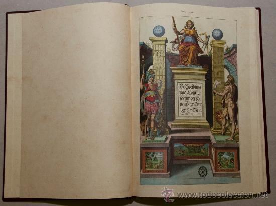 CIVITATES ORBIS TERRARUM (FACSÍMIL) (Libros de Segunda Mano - Geografía y Viajes)
