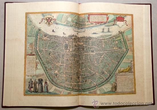 Libros de segunda mano: Civitates Orbis Terrarum (facsímil) - Foto 2 - 32646507