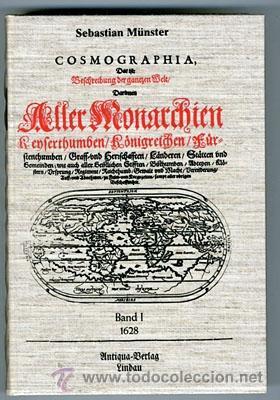 COSMOGRAFIA, DE SEBASTIAN MUNSTER (S. XVII) FACSÍMIL (Libros de Segunda Mano - Geografía y Viajes)