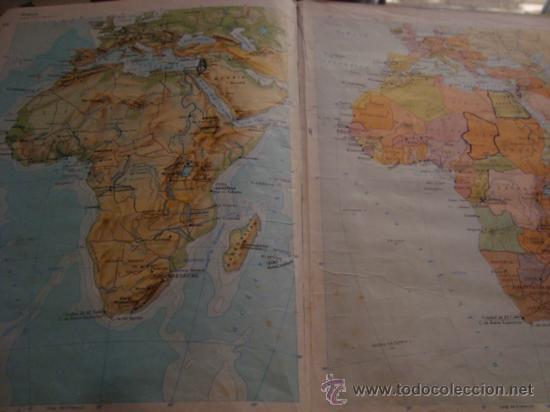 Libros de segunda mano: atlas general basico aguilar, 43ª ediciono 1975 - Foto 50 - 32741167