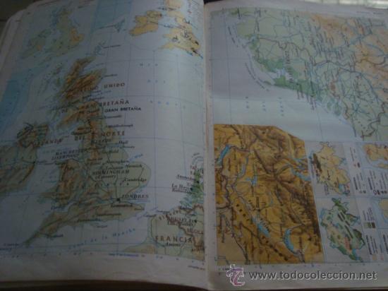 Libros de segunda mano: atlas general basico aguilar, 43ª ediciono 1975 - Foto 43 - 32741167
