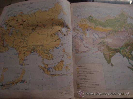 Libros de segunda mano: atlas general basico aguilar, 43ª ediciono 1975 - Foto 34 - 32741167