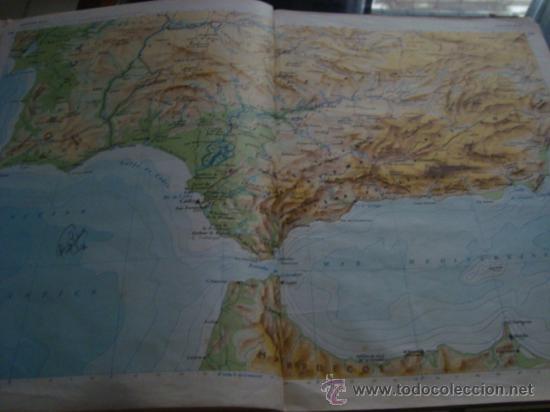 Libros de segunda mano: atlas general basico aguilar, 43ª ediciono 1975 - Foto 6 - 32741167