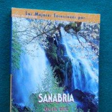 Libros de segunda mano: SANABRIA - 20 RUTAS - GUIA DEL PARQUE NATURAL DEL LAGO DE... - ZAMORA - 2005 - 2ª EDICION . Lote 32859435