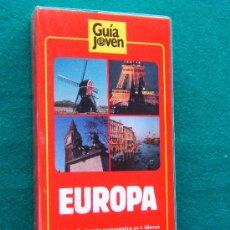 Libros de segunda mano: EUROPA - GUIA JOVEN - SALIMOS - INCLUYE DICCIONARIO GASTRONOMICO - PLANOS Y MAPAS -1990 - 1ª EDICION. Lote 32920231