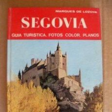 Libros de segunda mano: SEGOVIA. GUÍA TURÍSTICA. FOTOS COLOR. PLANOS. MARQUÉS DE LOZOYA. EDITORIAL NOGUER. AÑO 1976.. Lote 33053950