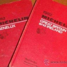 Libros de segunda mano: GUIA MICHELIN 1982 BELGICA HOLANDA,LUXEMBURGO Y GRAN BRETAÑA. Lote 33294001