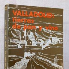 Libros de segunda mano - LIBRO DE ENRIQUE GAVILAN. VALLADOLID: TIERRAS DE PAN Y VINO - 33423474