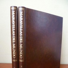 Libros de segunda mano: MARAVILLAS DEL MUNDO - 2 TOMOS; EDITORIAL SALVAT, 1983 (VER FOTOS). Lote 33784406