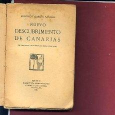 Libros de segunda mano: NUEVO DESCUBRIMIENTO DE CANARIAS (LAS LEYENDAS Y PELIGROS QUE TIENEN ESTAS ISLAS. Lote 33854447