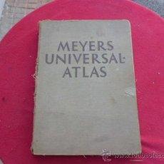 Libros de segunda mano: LIBRO MEYERS UNIVERSAL ATLAS VERLAG BIBLIOGRAPHICS INSTITUT AG. LEIPZIG EN ALEMAN 1937 L-2360. Lote 34288346