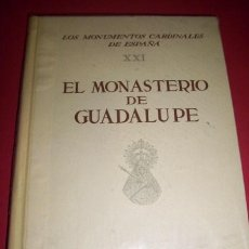 Libros de segunda mano: CALLEJO, CARLOS - EL MONASTERIO DE GUADALUPE. Lote 34424966