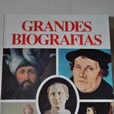 Libros de segunda mano: GRANDES BIOGRAFÍAS. CUATRO TOMOS. CARLOS GISPERT RM60593. Lote 35256686