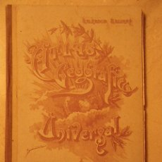 Libros de segunda mano: ATLAS GEOGRÁFICO UNIVERSAL. SALVADOR SALINAS. MADRID. 1954. Lote 35417833
