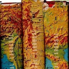 Libros de segunda mano: GEOGRAFÍA UNIVERSAL, PIERRE DEFFONTAINES, PLANETA, BARCELONA, 3 TOMOS, PROFUSAMENTE ILUSTRADO. Lote 35989717