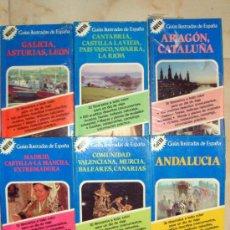 Libros de segunda mano: 6 GUÍAS ILUSTRADAS-DESCUBRA ESPAÑA-READER´S DIGEST-1984-PUEBLOS MAPAS-MUSEOS..... Lote 36094723