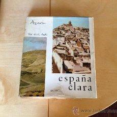 Libros de segunda mano: ESPAÑA CLARA. AZORIN. UN RECORRIDO FOTOGRAFICO-LITERARIO POR LA ESPAÑA DE LOS 60.. Lote 36668232