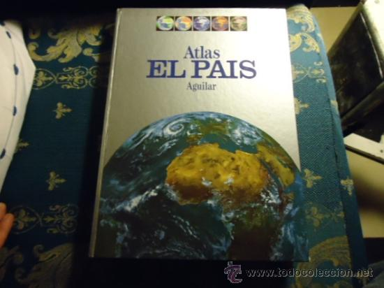 ATLAS EL PAIS AGUILAR1991PORTES 8€2,00 € (Libros de Segunda Mano - Geografía y Viajes)