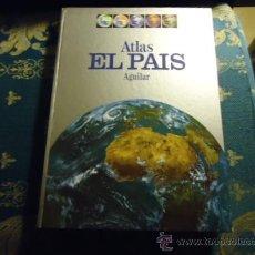 Libros de segunda mano: ATLAS EL PAIS AGUILAR1991PORTES 8€2,00 €. Lote 36667526