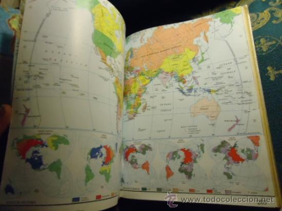 Libros de segunda mano: ATLAS EL PAIS AGUILAR1991PORTES 8€2,00 € - Foto 5 - 36667526