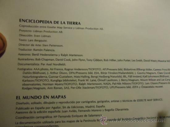 Libros de segunda mano: ATLAS EL PAIS AGUILAR1991PORTES 8€2,00 € - Foto 4 - 36667526