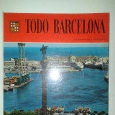 Libros de segunda mano: TODO BARCELONA - 159 FOTOGRAFÍAS A TODO COLOR - 5ª EDICIÓN 1984 - EDITORIAL ESCUDO DE ORO. Lote 36674031