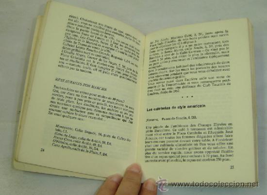 Libros de segunda mano: BARCELONA-GUIA TURISTICA GUDRUN GREUNKE-Edición Francesa 1970 - Foto 3 - 37101854