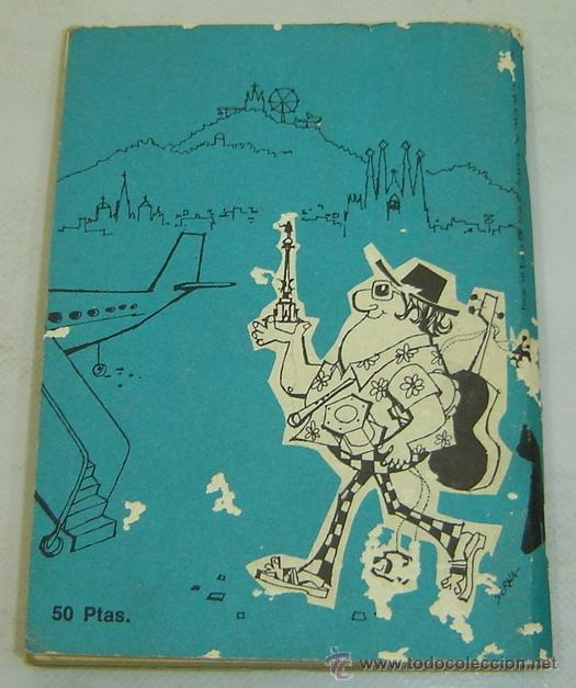 Libros de segunda mano: BARCELONA-GUIA TURISTICA GUDRUN GREUNKE-Edición Francesa 1970 - Foto 2 - 37101854