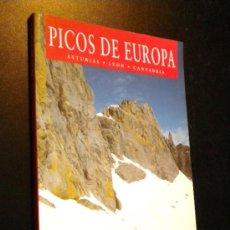 Libros de segunda mano: PICOS DE EUROPA. ASTURIAS, LEON, CANTABRIA. Lote 37253324
