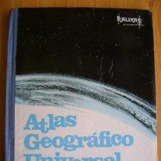 Libros de segunda mano - Atlas geográfico universal, Salvador Salinas Bellver. 39ª edición, 1969 (Geografía universal) - 37465051