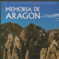 Libros de segunda mano: MEMORIA DE ARAGON. Lote 37620537