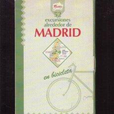 Libros de segunda mano: 52 EXCURSIONES ALREDEDOR DE MADRID EN BICICLETA / B. DATCHARRY , V. MARDONES.. Lote 38226635