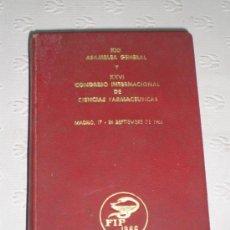 Libros de segunda mano: EDICIÓN ESPECIAL GUÍA DE MADRID Y ALREDEDORES AFRODISIO AGUADO. 1966. CIENCIAS FARMACÉUTICAS. FOTOS!. Lote 38276484
