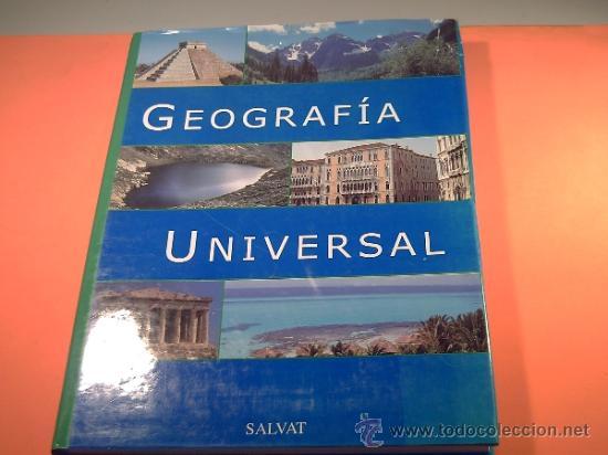 GEOGRAFÍA UNIVERSAL SALVAT - ATLAS UNIVERSAL - (Libros de Segunda Mano - Geografía y Viajes)
