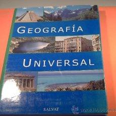 Libros de segunda mano: GEOGRAFÍA UNIVERSAL SALVAT - ATLAS UNIVERSAL - . Lote 38342933