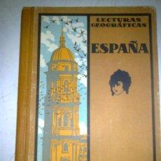 Libros de segunda mano: COLECCIÓN LECTURAS GEOGRÁFICAS. TOMO IV. Lote 38497253