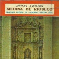 Libros de segunda mano: MEDINA DE RIOSECO. LEOPOLDO CORTEJOSO. EDITORIAL EVEREST. LEON. 1976. Lote 38940616