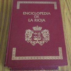 Libros de segunda mano: 4 TOMOS - ENCICLOPEDIA DE LA RIOJA - MUNICIPIOS DE LA RIOJA - PAISAJE. Lote 38981185