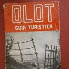 Libros de segunda mano: GUIA TURISTICA DE OLOT Y SUS ALREDEDORES. ALEJANDRO CUELLA BASSOLS. Lote 39493263