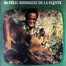 Libros de segunda mano: DR. FELIX RODRIGUEZ DE LA FUENTE, LOS ANIMALES EN SU MEDIO AMBIENTE, AFRICA, JAIMES LIBROS,1976. Lote 39522237